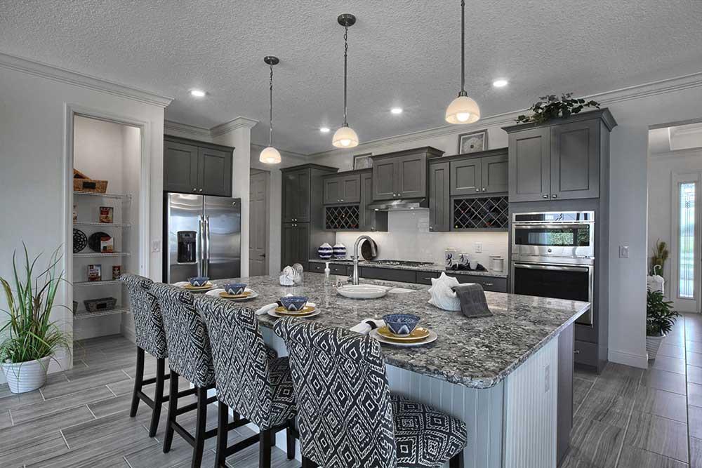 Kitchen featured in the Candler Hills - Brighton By Colen Built Development, LLC in Ocala, FL