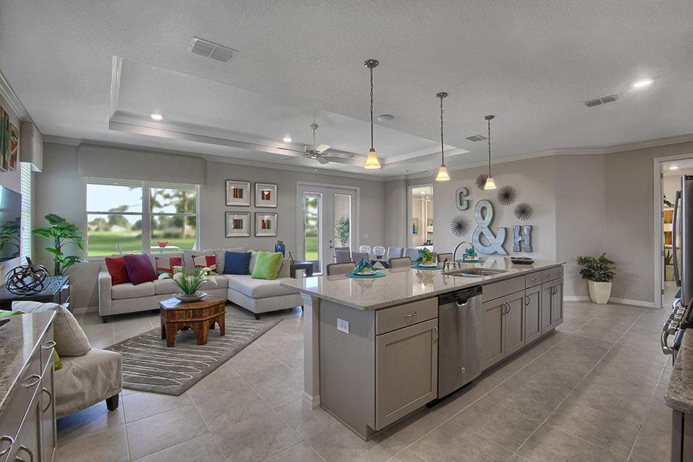 Living Area featured in the Juliana By On Top of the World Communities in Ocala, FL