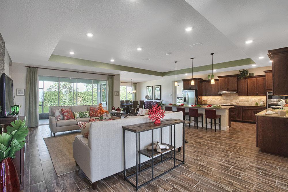 Living Area featured in the Candler Hills - Northampton By Colen Built Development, LLC