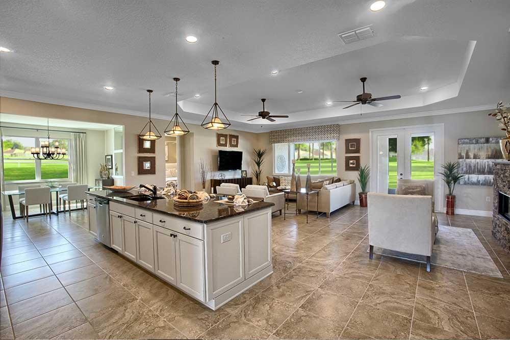 Living Area featured in the Wellington By On Top of the World Communities in Ocala, FL