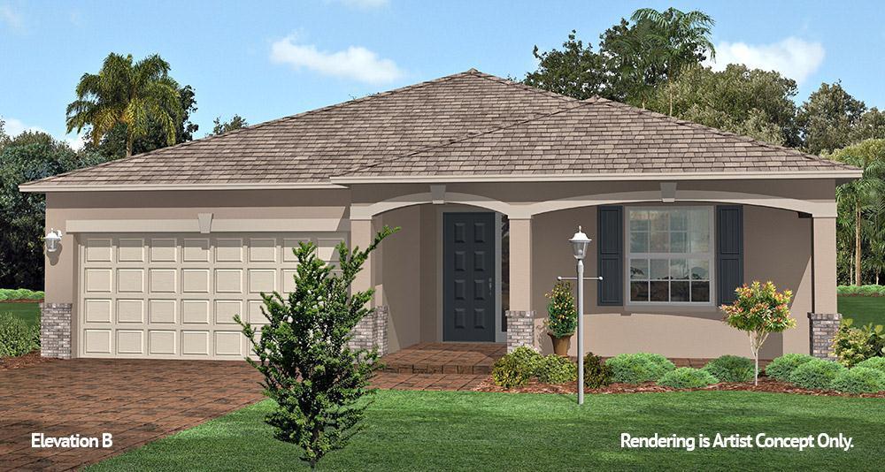 Exterior featured in the Crescent Ridge - Ginger By Colen Built Development, LLC in Ocala, FL