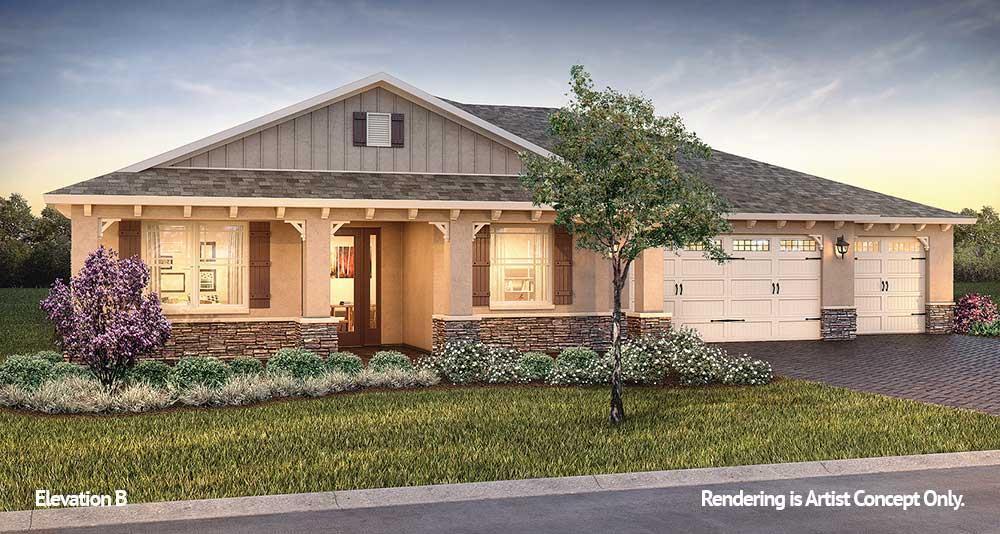 Exterior featured in the Candler Hills - Arlington By Colen Built Development, LLC in Ocala, FL