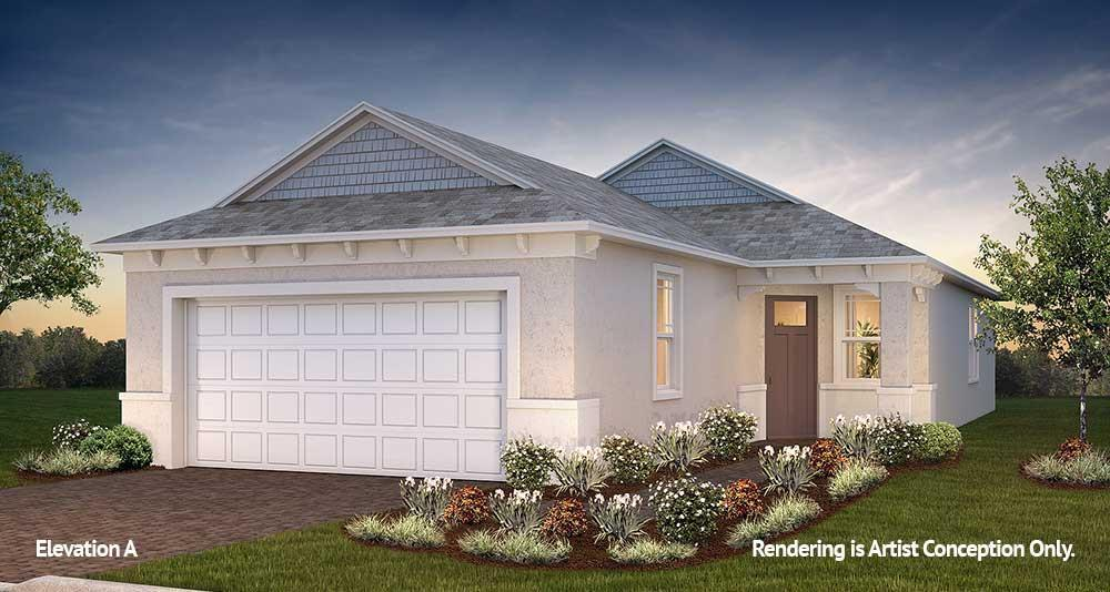 Exterior featured in the Ginger By On Top of the World Communities in Ocala, FL