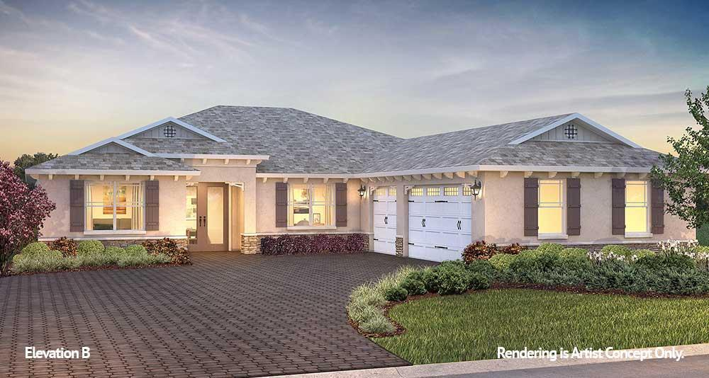 Exterior featured in the Northampton By On Top of the World Communities in Ocala, FL
