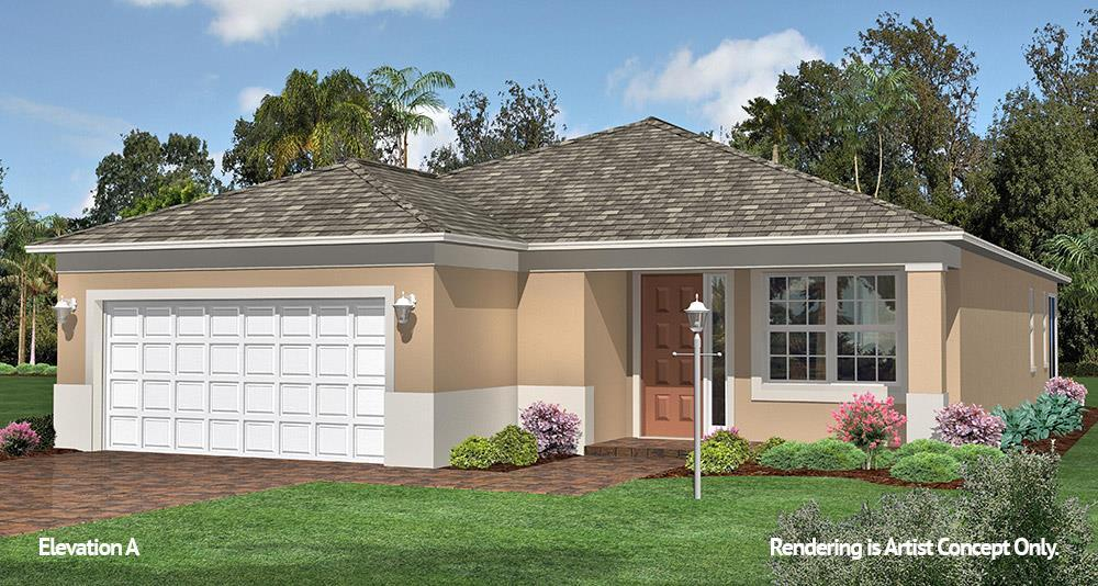 Exterior featured in the Crescent Ridge - Orchid By Colen Built Development, LLC in Ocala, FL