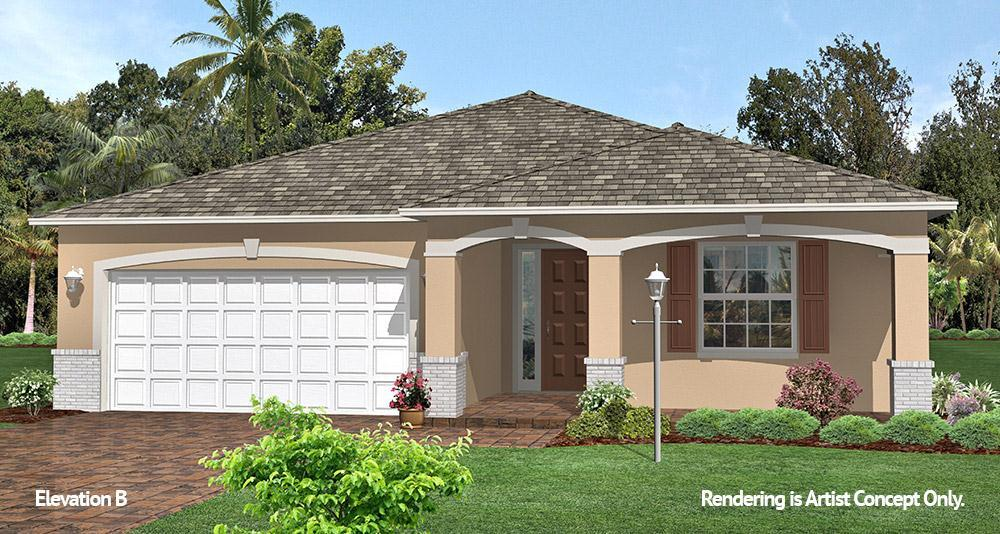 Exterior featured in the Crescent Ridge - Sunflower By Colen Built Development, LLC in Ocala, FL