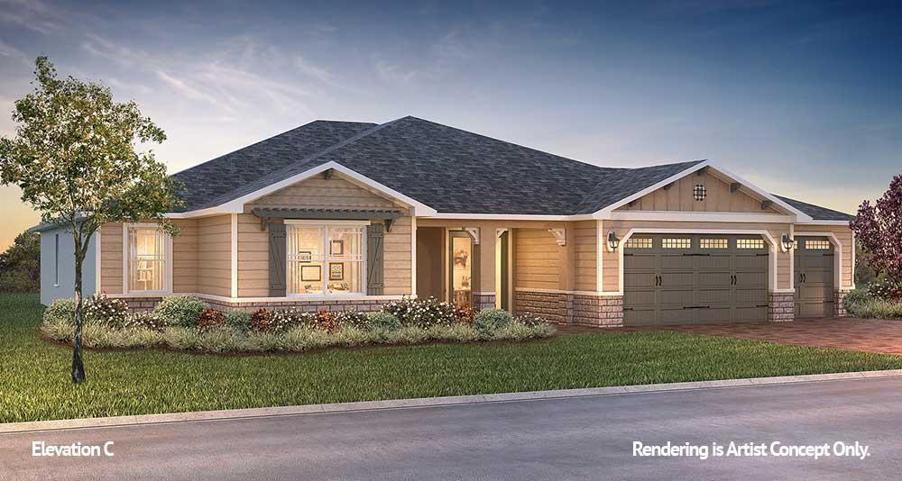 Exterior featured in the Candler Hills - Wellington By Colen Built Development, LLC in Ocala, FL