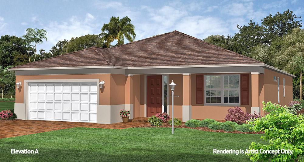 Exterior featured in the Wisteria By On Top of the World Communities in Ocala, FL