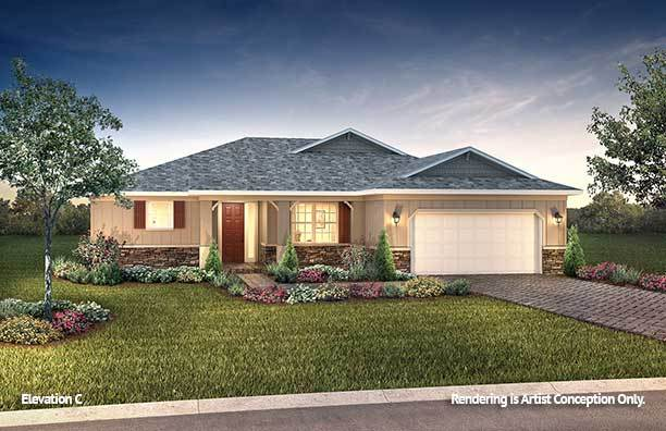 Exterior featured in the Livingston By On Top of the World Communities in Ocala, FL