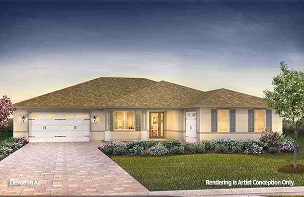 Exterior featured in the Candler Hills - Dunbar By Colen Built Development, LLC in Ocala, FL