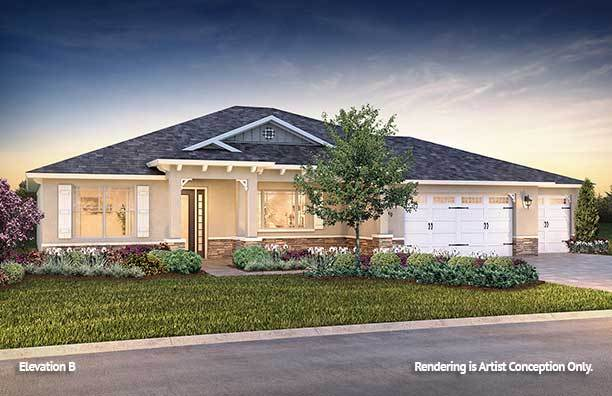 Exterior featured in the Candler Hills - Brighton By Colen Built Development, LLC in Ocala, FL