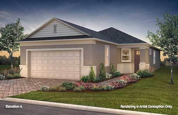Exterior featured in the Crescent Ridge - Oren By Colen Built Development, LLC in Ocala, FL