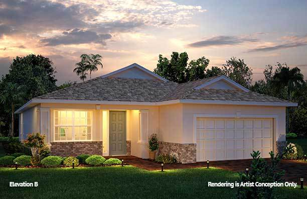 Exterior featured in the Weybourne Landing - Orchid By Colen Built Development, LLC in Ocala, FL