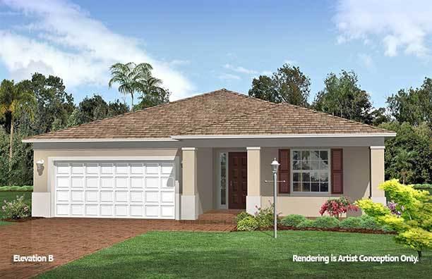 Exterior featured in the Weybourne Landing - Sunflower By Colen Built Development, LLC in Ocala, FL