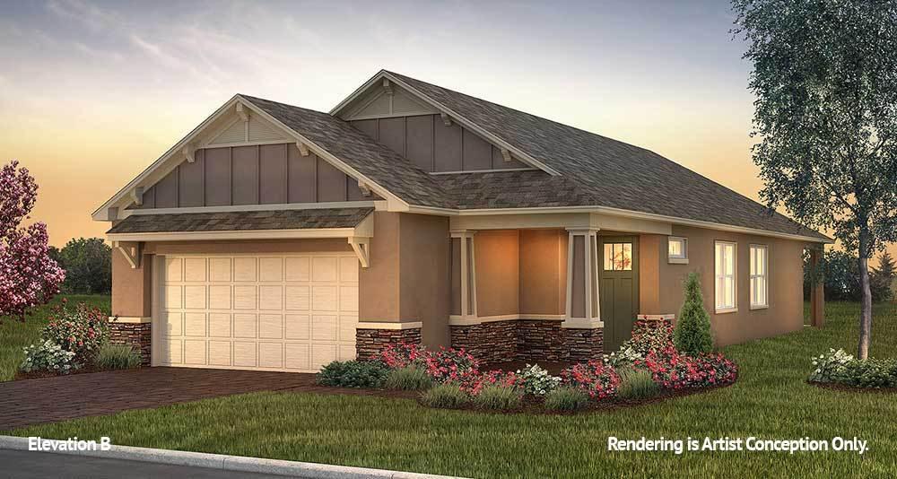 Exterior featured in the Weybourne Landing - Rimon By Colen Built Development, LLC in Ocala, FL