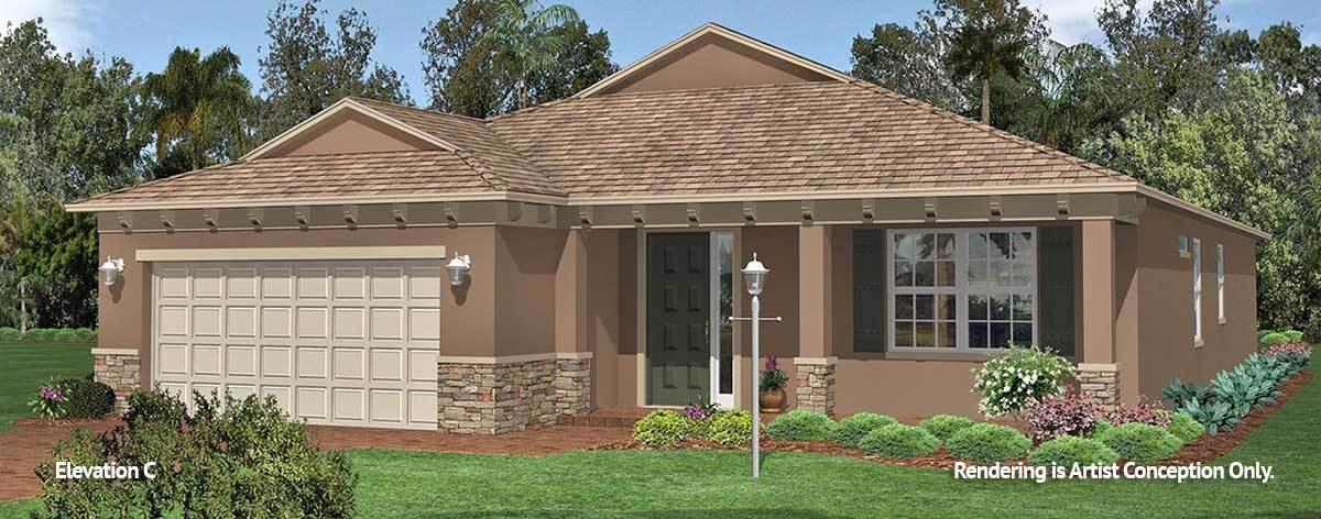 Exterior featured in the Weybourne Landing - Wisteria By Colen Built Development, LLC in Ocala, FL