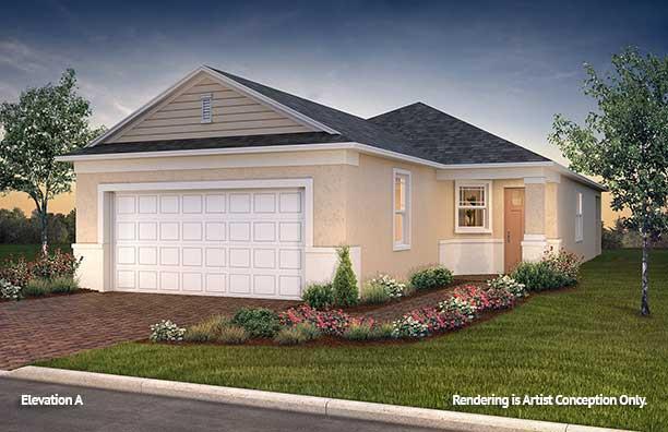 Exterior featured in the Weybourne Landing - Oren By Colen Built Development, LLC in Ocala, FL