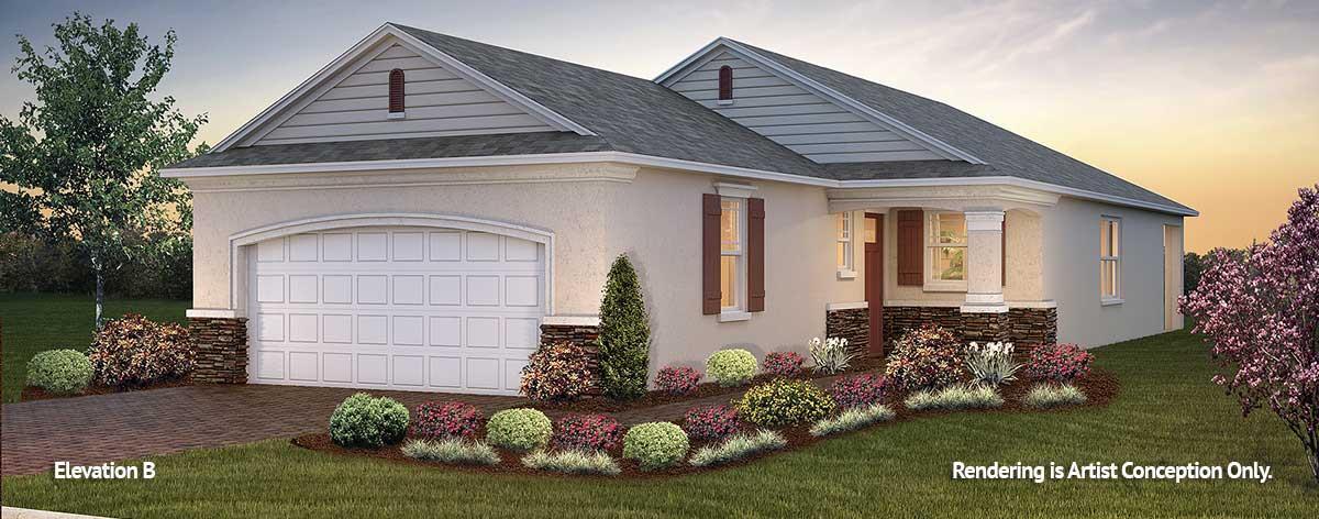 Exterior featured in the Weybourne Landing - Tamar By Colen Built Development, LLC in Ocala, FL