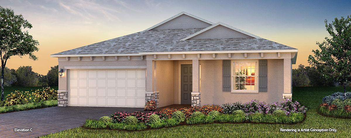 Exterior featured in the Weybourne Landing - Ginger By Colen Built Development, LLC in Ocala, FL