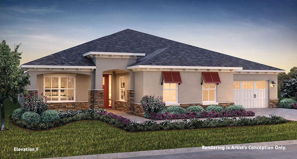 Exterior featured in the Longleaf Ridge - Magnolia By Colen Built Development, LLC in Ocala, FL