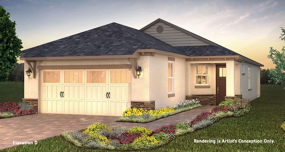 Exterior featured in the Longleaf Ridge - Oren By Colen Built Development, LLC in Ocala, FL