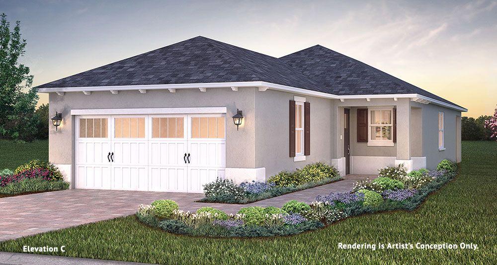 Exterior featured in the Longleaf Ridge - Tamar By Colen Built Development, LLC in Ocala, FL