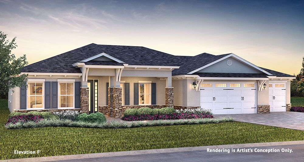 Exterior featured in the Longleaf Ridge - Brighton By Colen Built Development, LLC in Ocala, FL