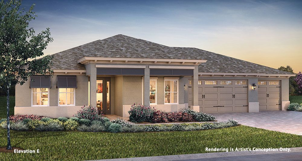 Exterior featured in the Longleaf Ridge - Arlington By Colen Built Development, LLC in Ocala, FL