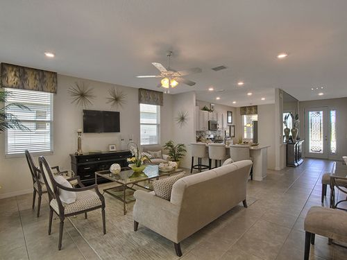 Greatroom-and-Dining-in-Aster-at-On Top of the World Communities-in-Ocala