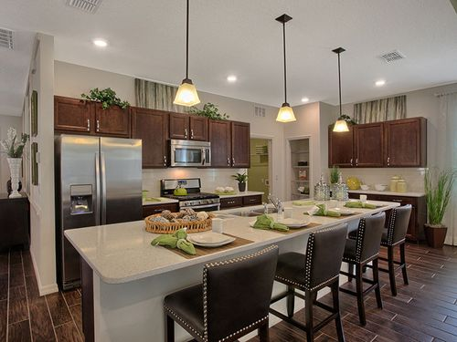 Kitchen-in-Ginger-at-On Top of the World Communities-in-Ocala