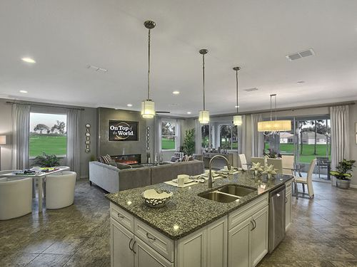 Greatroom-and-Dining-in-Ariana-at-On Top of the World Communities-in-Ocala