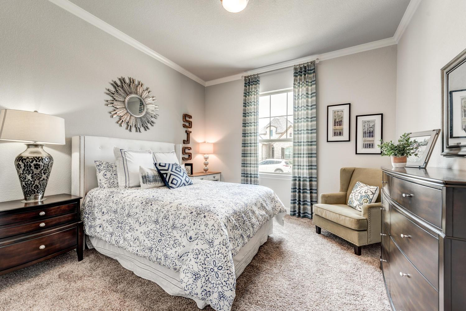 Bedroom featured in the Naples | Villa By Our Country Homes  in Fort Worth, TX