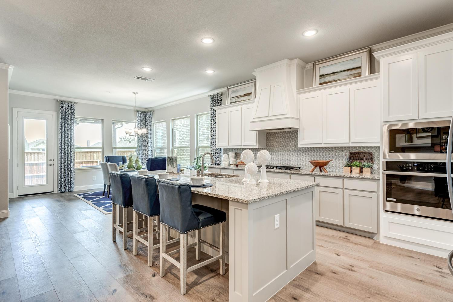 Kitchen featured in the Naples | Villa By Our Country Homes  in Fort Worth, TX
