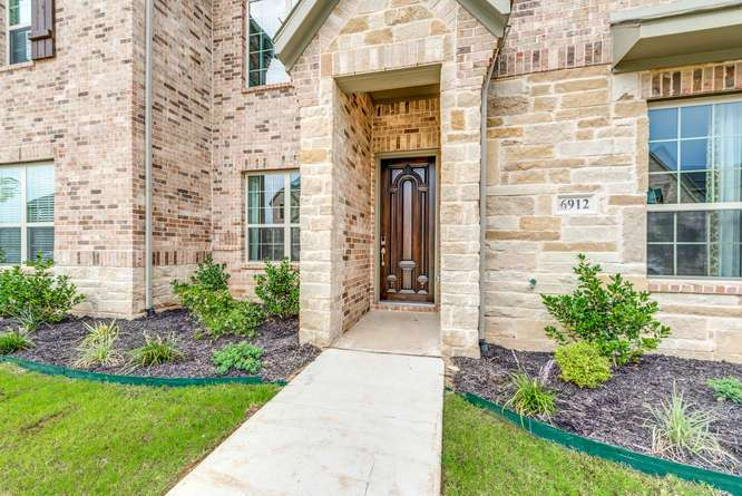 Exterior featured in the Linden | Townhome By Our Country Homes  in Fort Worth, TX