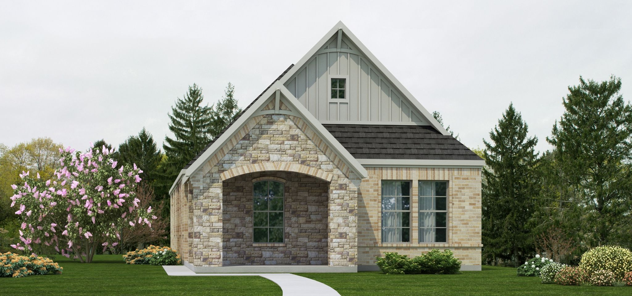 Exterior featured in the Berkshire | Cottage By Our Country Homes  in Fort Worth, TX