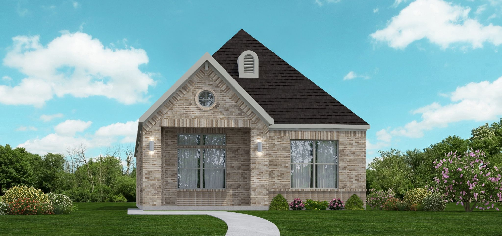 Exterior featured in the Berkshire   Cottage By Our Country Homes  in Fort Worth, TX