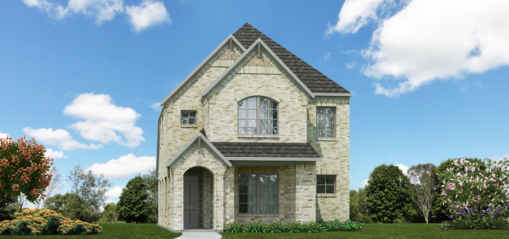 Exterior featured in the Brentwood | Cottage By Our Country Homes  in Fort Worth, TX