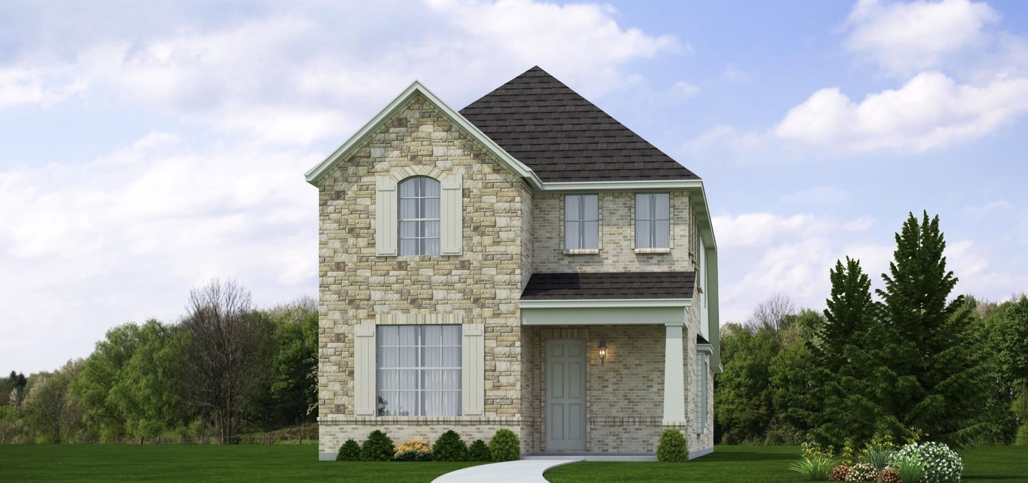 Exterior featured in the Barret By Our Country Homes  in Fort Worth, TX