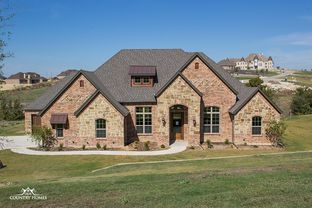 Claremont - Falls of Prosper: Prosper, Texas - Our Country Homes