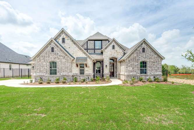Exterior featured in the 12484 Palmer By Our Country Homes  in Fort Worth, TX