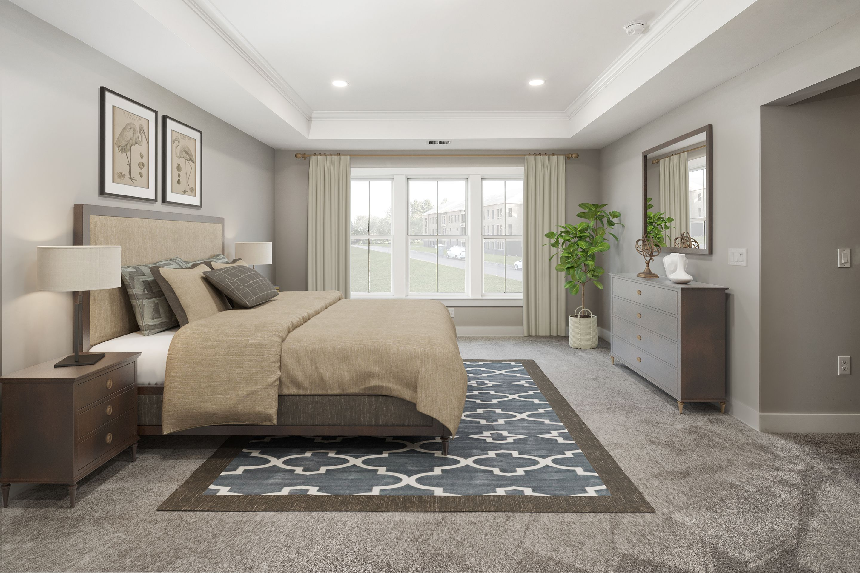 Bedroom featured in the Carter By Sharbell Development Corp. in Somerset County, NJ