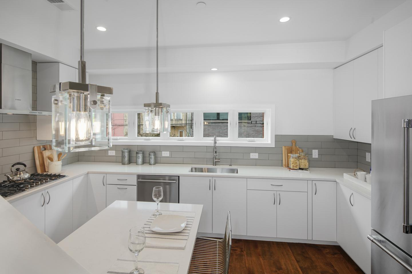 Kitchen featured in the Howard Townhome By PRDC Properties in Philadelphia, PA