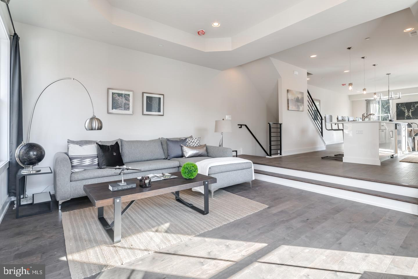 Living Area featured in the Carriage Homes By PRDC Properties in Philadelphia, PA