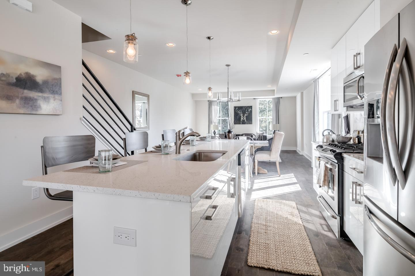 Kitchen featured in the Carriage Homes By PRDC Properties in Philadelphia, PA