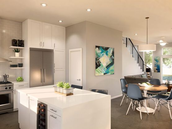 Townhome - Interior:Elevation
