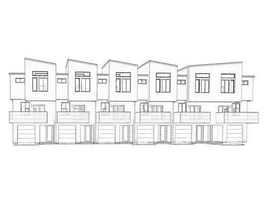 North Bluff - Townhomes:Elevation