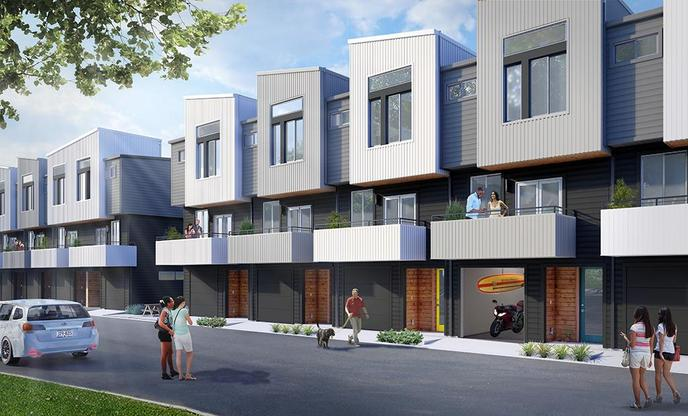 North Bluff - Townhomes:Exterior Elevation