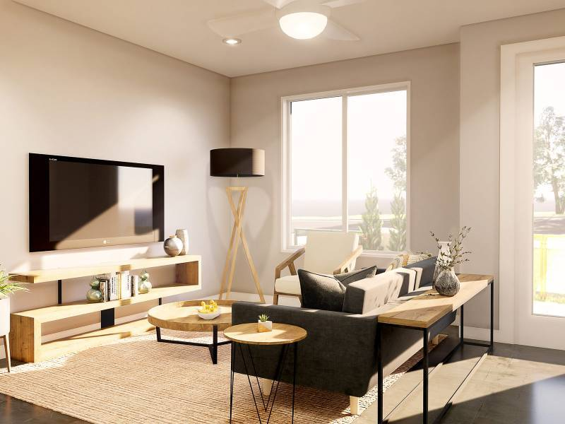 Living Area featured in the Unit A1 By StoryBuilt in San Antonio, TX