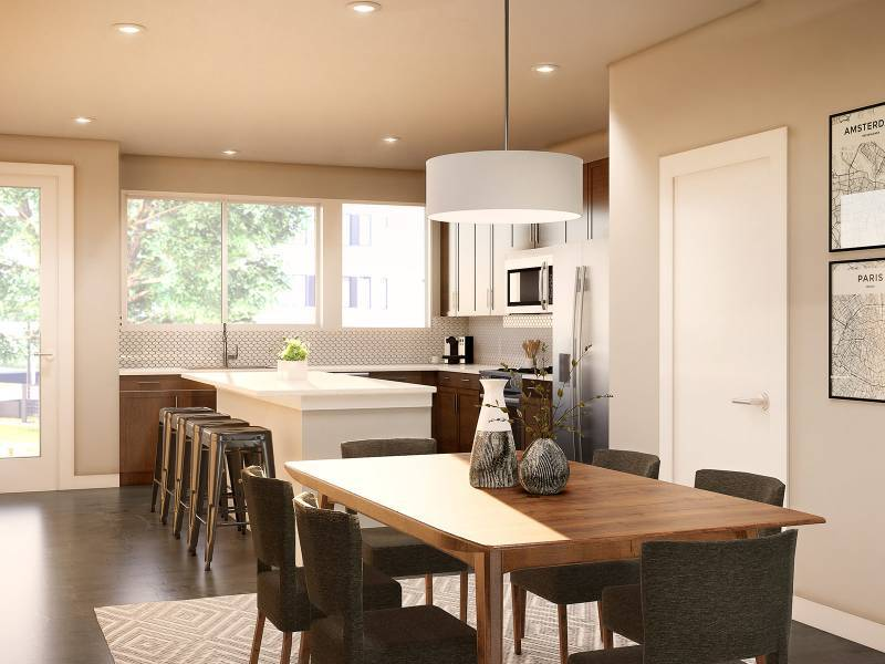 Kitchen featured in the Unit B By StoryBuilt in San Antonio, TX