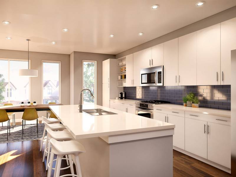 Kitchen featured in the Unit C1 By StoryBuilt in San Antonio, TX